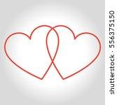 Hearts Icon Symbol Of Love On...