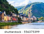 View Of The Wine Town Cochem A...