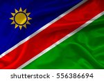 flag of namibia | Shutterstock . vector #556386694