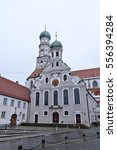 Small photo of Catholic city parish St. Ulrich and Afra