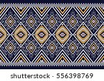 geometric ethnic pattern... | Shutterstock .eps vector #556398769