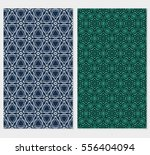 set of geometric seamless...   Shutterstock .eps vector #556404094