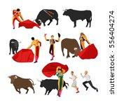 bullfighting set of corrida