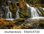 Waterfall On The Gray Stones....