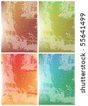grunge background for text | Shutterstock .eps vector #55641499