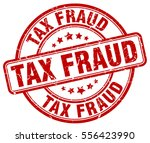 tax fraud. stamp. red round... | Shutterstock .eps vector #556423990