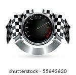 sports emblem  vector | Shutterstock .eps vector #55643620
