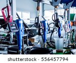 changing the oil in auto repair ... | Shutterstock . vector #556457794