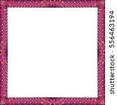 ethnic bohemian chic frame... | Shutterstock .eps vector #556463194