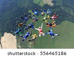 Fifteen Skydivers Have Made A...