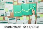 businessman composing a... | Shutterstock . vector #556478710