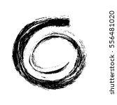grunge spiral shape background... | Shutterstock .eps vector #556481020