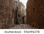 stone old city jaffa in tel aviv | Shutterstock . vector #556496278