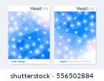 scientific brochure design... | Shutterstock .eps vector #556502884