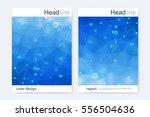 scientific brochure design...   Shutterstock .eps vector #556504636