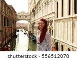 model photography in venice  | Shutterstock . vector #556512070