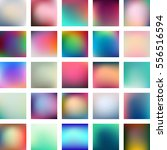 set of 25 abstract colorful... | Shutterstock .eps vector #556516594