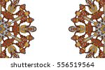 banner with steampunk design... | Shutterstock .eps vector #556519564