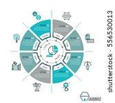 unique infographic design... | Shutterstock .eps vector #556530013