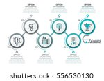 modern infographic design... | Shutterstock .eps vector #556530130