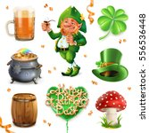 feast of saint patrick.... | Shutterstock .eps vector #556536448