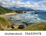 View Of Cannon Beach And India...