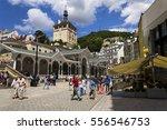 karlovy vary  czech republic  ... | Shutterstock . vector #556546753