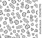 Doodles Cute Seamless Pattern....