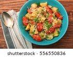 Fried Potato And Tomato Salad...