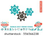 grey and cyan transmission... | Shutterstock .eps vector #556566238