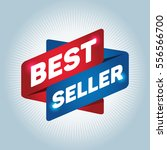 best seller arrow tag sign. | Shutterstock .eps vector #556566700