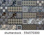 mosaic  tile  abstract pattern   Shutterstock . vector #556570300
