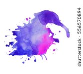 abstract hand drawn watercolor... | Shutterstock .eps vector #556570894