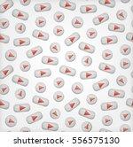 vector cartoon seamless pattern ... | Shutterstock .eps vector #556575130