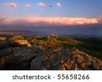 View Over The Escarpment At...