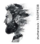 Portrait Of A Bearded Man...