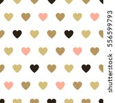 seamless background hearts. | Shutterstock . vector #556599793