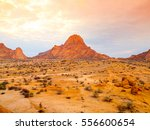 spitzkoppe  aka sptizkop  ... | Shutterstock . vector #556600654