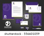 neurology star logo  corporate... | Shutterstock .eps vector #556601059
