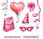 watercolor illustration ...   Shutterstock . vector #556603603