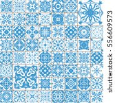 seamless tile pattern. colorful ... | Shutterstock .eps vector #556609573