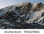 white snow mountains peak...   Shutterstock . vector #556625866