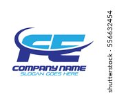fe logo | Shutterstock .eps vector #556632454