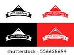 flat vector emblem on white ... | Shutterstock .eps vector #556638694
