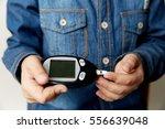 test for diabetes child stock...   Shutterstock . vector #556639048
