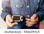 boy loses sugar with a...   Shutterstock . vector #556639414