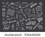 healthcare and medicine vector... | Shutterstock .eps vector #556646560