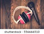 music sound. mic  microphone...   Shutterstock . vector #556666510