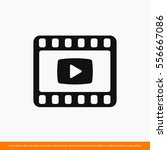 video icon. one of set web icons | Shutterstock .eps vector #556667086