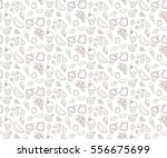 seamless texture with sweets... | Shutterstock .eps vector #556675699